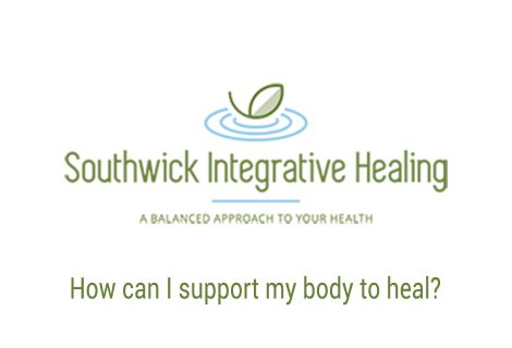 How can I support my body to heal