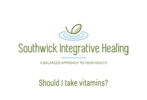 Should I take vitamins