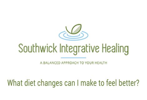 What diet changes can I make to feel better